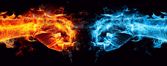 Poem: Fire and Ice
